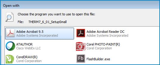 Installation file: