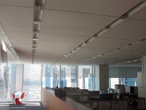 Interior of the new york times building