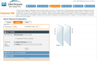 Screenshot of PPG Industries' online tool, Construct.